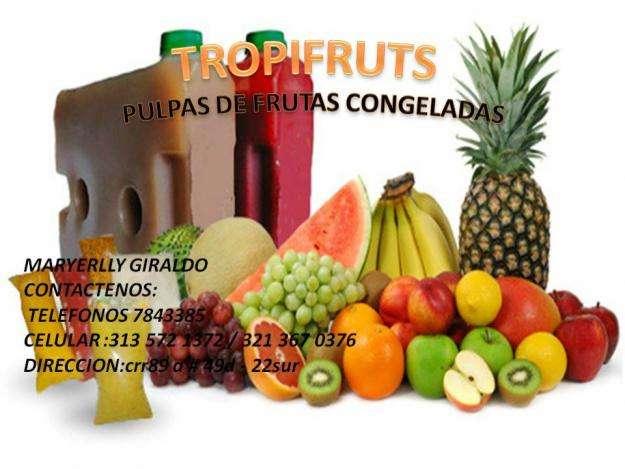 Venta de pulpas de frutas en bogota colombia