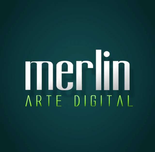 Merlin ad, diseño, publicidad, photoshop, paginas web, fotografia y retoque