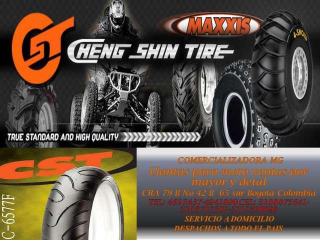 Fotos de Venta de llantas  para moto al detal y al mayor  cheng  shin tire 2