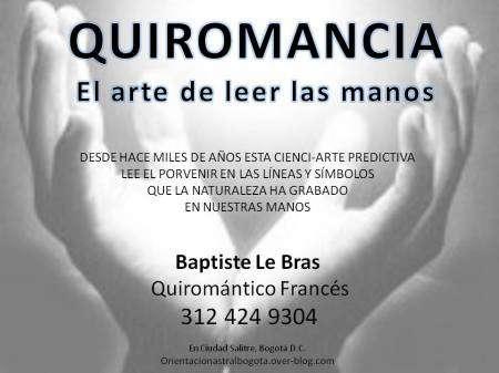 Quiromancia: lectura de las manos (quirologia)