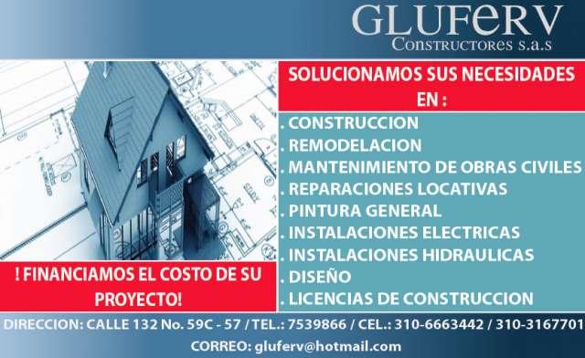 Construccion,remodelacion y mantenimiento de obras civiles