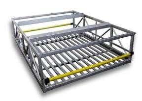 Venta y alquiler de estibas, estanterias y estructuras metalicas