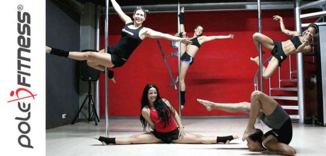 Clases de pole dance, chair dance, danza arabe, trx y yoga en pole fitness bogota