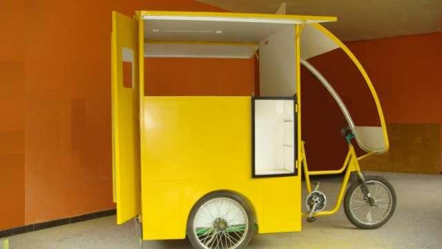 Triciclos de carga monte su negocio en este triciclo