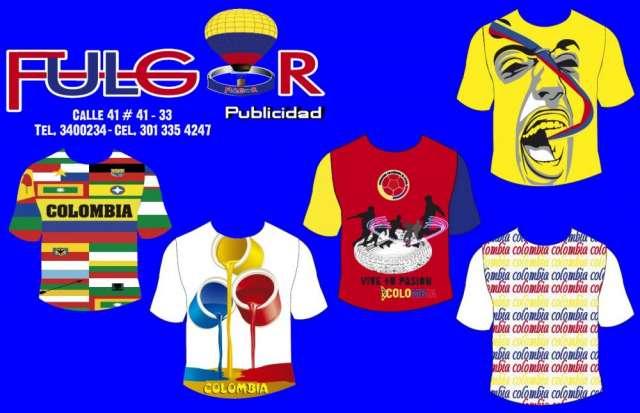 Fabricantes de camisetas colombianas
