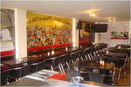 Restaurante parrilla bar frente a mundo aventura