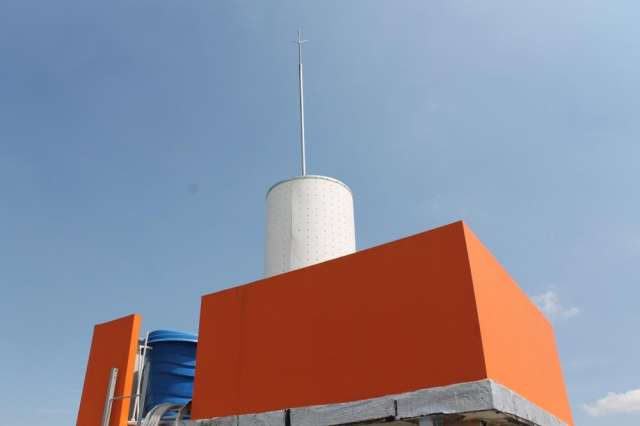 Radomos para mimetizacion de antenas