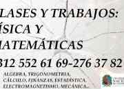 Clases física  matemáticas electrónica