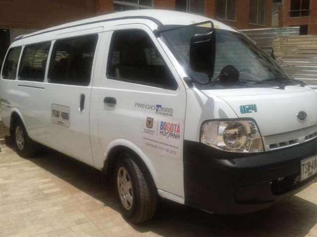 Vendo camioneta kia pregio 2013, 19 pasajeros