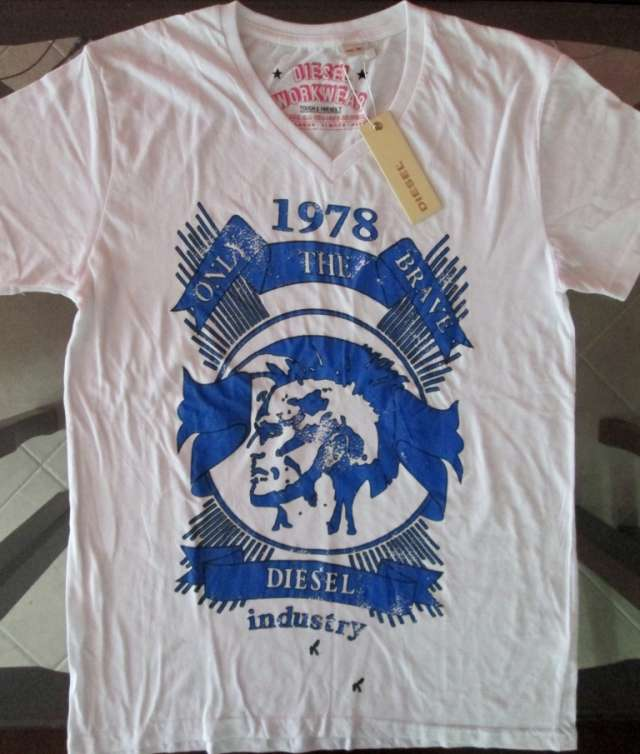 Camisetas diesel, shofar, tommy hilfiger importadas 100% original