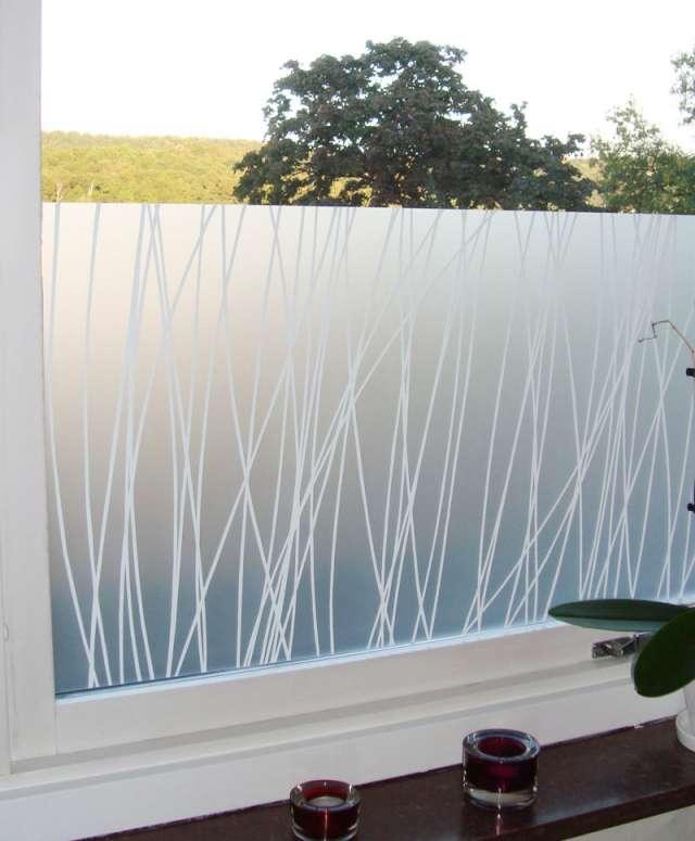 Decoraciones sobre vidrio con decoraciones monarca