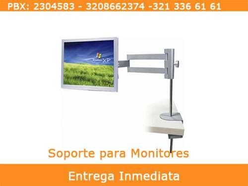 Soporte ergonómico para monitor de 17,19 y 22 pulgadas