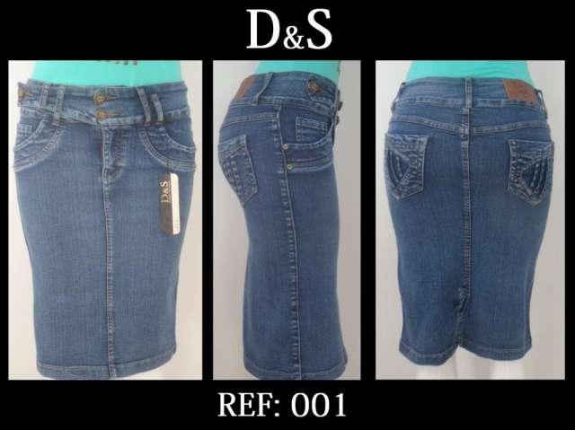 Faldas en jeans para cristianas 3 4 en Girón - Ropa y calzado  a6a96905952d