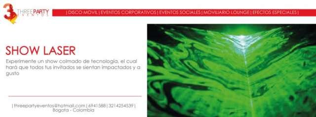 Alquiler de show laser bogota colombia