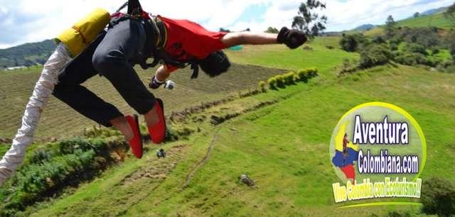 Bungee jumping de 130 metros de altura muy cerca de bogota, precio de promocion!