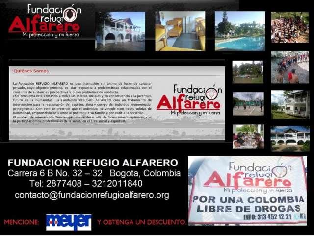 Consejeria /asesoria /restauracion /oración /centro rehabilitación /fundacion /drogadicion bogota colombia