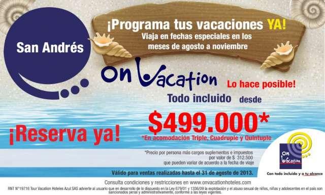 Tus vacaciones a san andrés