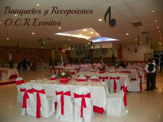 Banquetes y recepciones ocr eventos