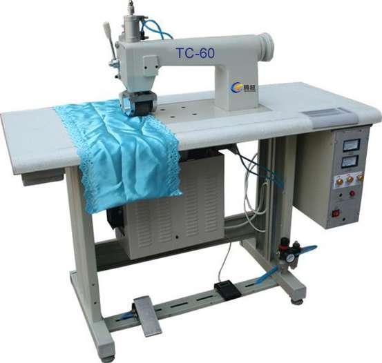 Bolsas ecológicas de ultrasonidos que hace la máquina