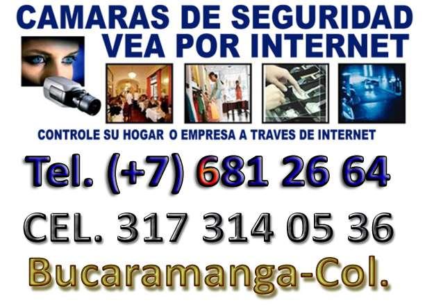 Camaras de videovigilancia bucaramanga -317 3140536-