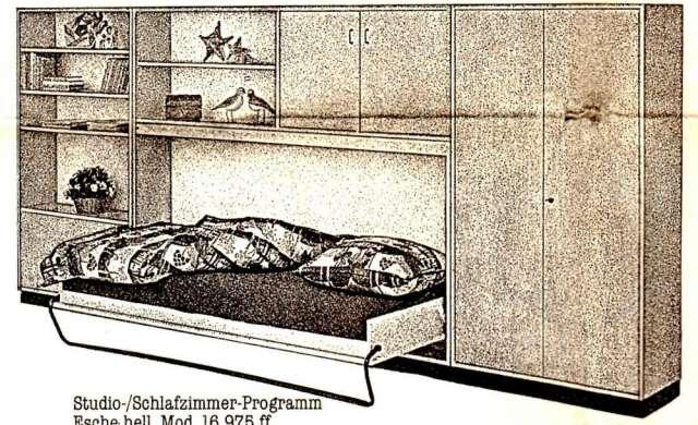 Herrajes para camas de empotrar en la pared tipo closet