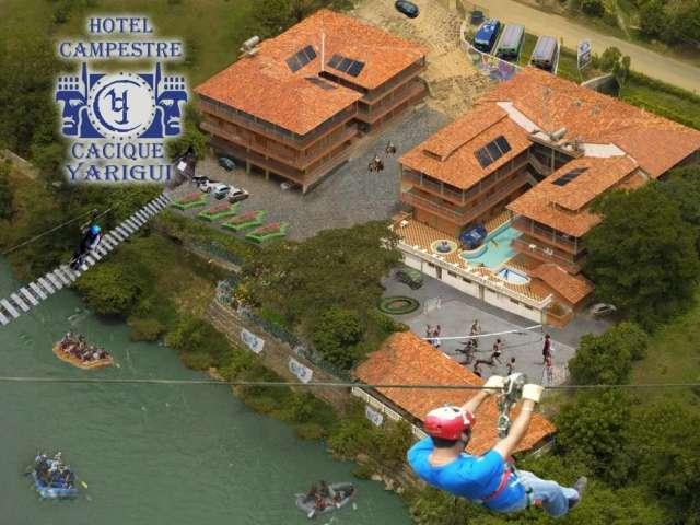 Vendo hotel campestre con capacidad para 33 personas totalmente amoblado acreditado instalaciones en perfecto estado