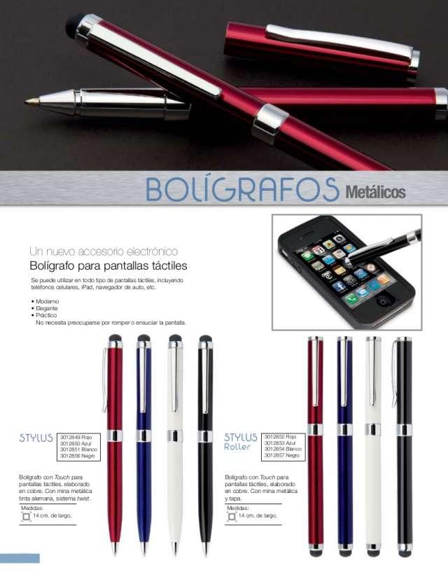 Bolígrafos metálicos personalizados stratik