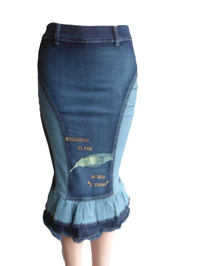 3a05abfd8 Faldas cristianas tela jeans en Cúcuta - Ropa y calzado