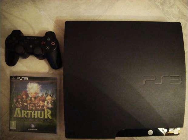 Playstation 3 - (como nuevo) 1 control 1 juego !ganga!