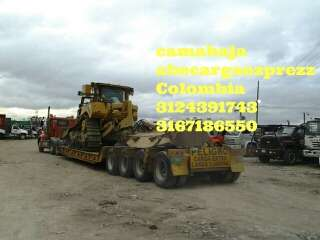 Servicio de transporte de vehiculos en niñeras camabaja gruas planchones 3167186550