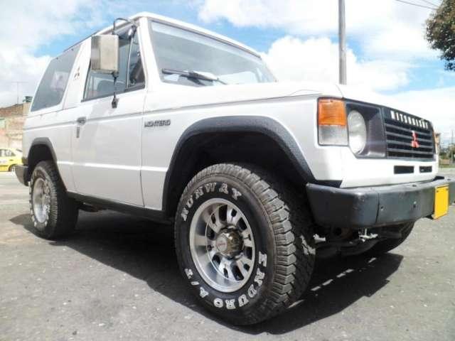 Ojo, aproveche espectacular campero 4x4 montero mitsubishi 2400 1997 baratísimo, con doble tracción;
