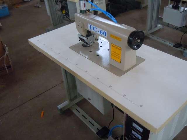 Alta calidad de ultrasonidos máquina de coser marca tc