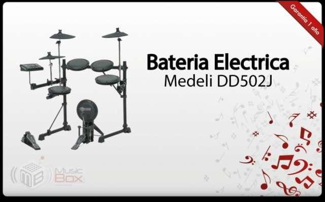 Bateria electronica medeli dd502 - nueva - musicboxcolombia