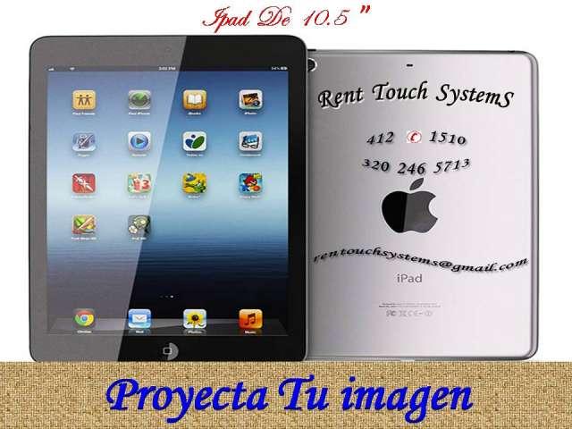 Aalquiler de ipad 4121510 computadores portatil tablets