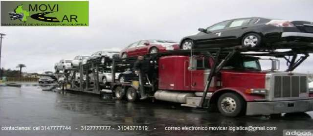 Transporte de vehiculos en colombia