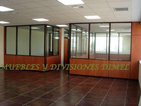 Divisiones en aluminio call center