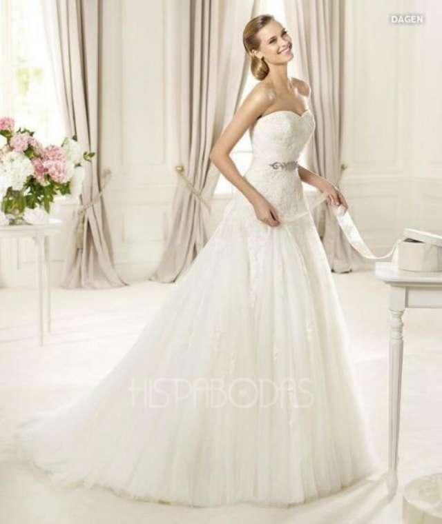 Vestido de novia pronovias modelo dagen