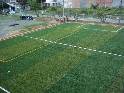 Fotos de Proyecto deportivo.  grama sintética 3