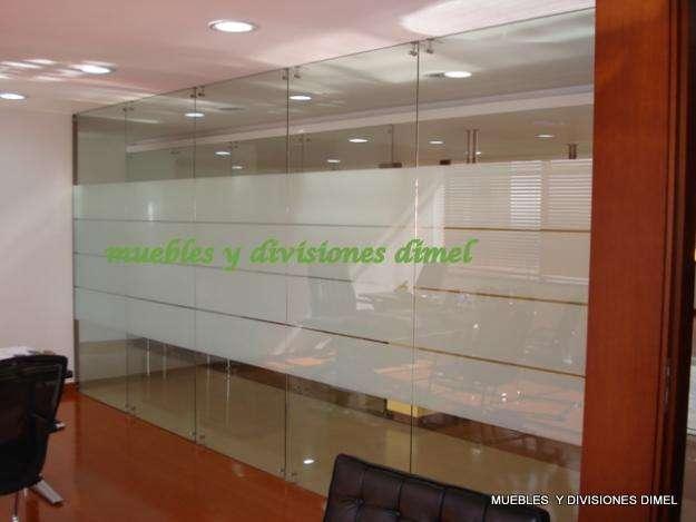 Divisiones en vidrio templado a-z reubicasiones