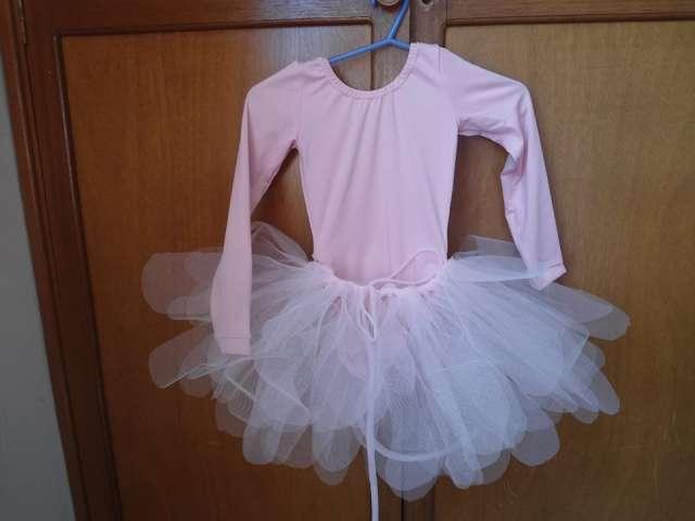 Conjunto trusa - tutu para niñas bailarinas
