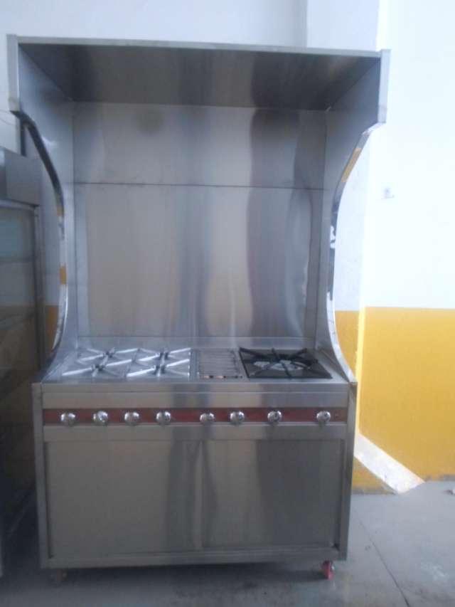 Vendo estufa industrial nueva