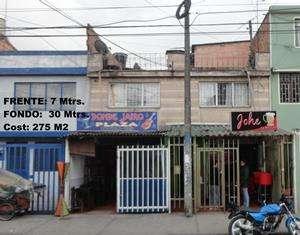 Venta casa comercial en plaza de las america carvajal 2 bogota.