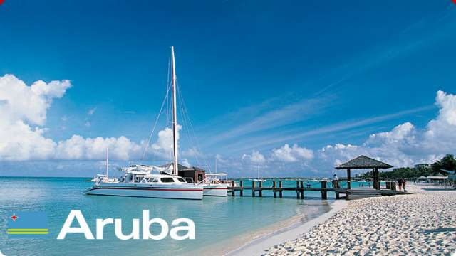 Aruba te espera no lo pienses mas.