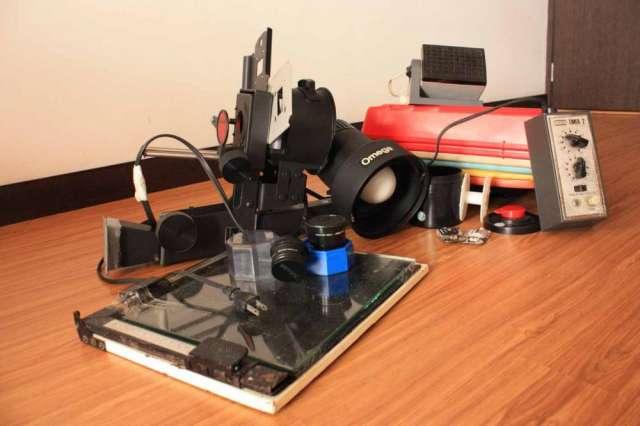 Ampliadora - kit fotografía analógica