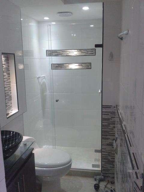 Cabinas de baño vidrio templado