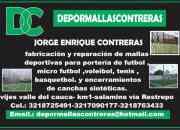 Depormallas contreras empresa dedicada a la fabricación de mallas deportivas