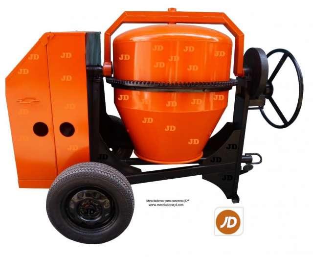 Mezcladora para concreto, capacidad dos bultos jd