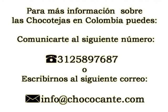 Fotos de Venta de chocotejas en colombia 3