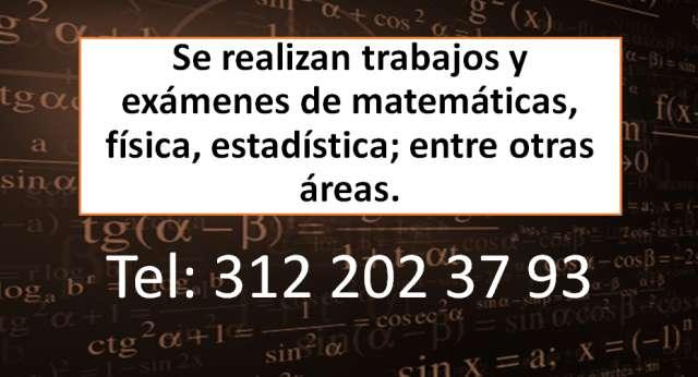 Clases de matematicas y examenes