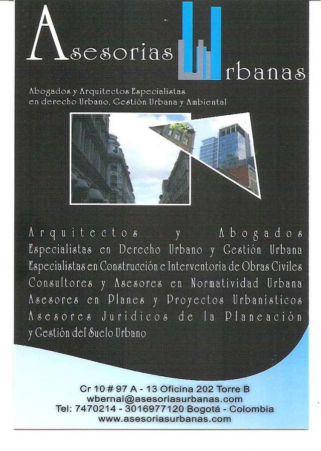 Especialistas en derecho urbano e inmobiliario